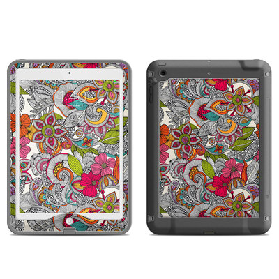 Lifeproof iPad Air Nuud Case Skin - Doodles Color