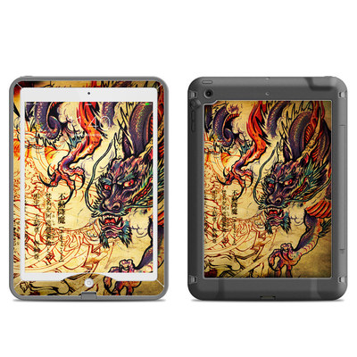 Lifeproof iPad Air Nuud Case Skin - Dragon Legend