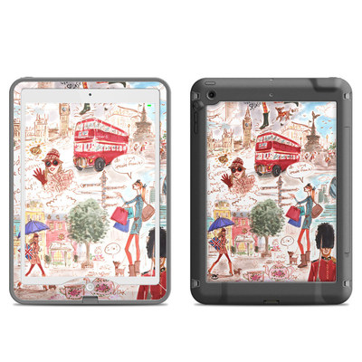 Lifeproof iPad Air Nuud Case Skin - London