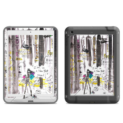 Lifeproof iPad Air Nuud Case Skin - My New York Mood