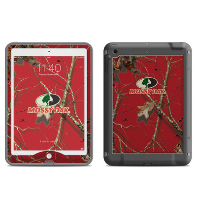 Lifeproof iPad Air Nuud Case Skin - Break-Up Lifestyles Red Oak
