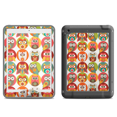 Lifeproof iPad Air Nuud Case Skin - Owls Family