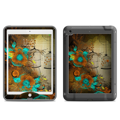 Lifeproof iPad Air Nuud Case Skin - Rusty Lace