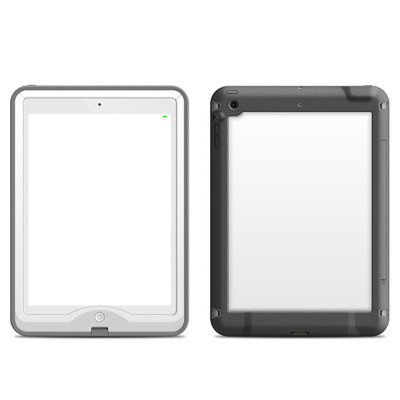 Lifeproof iPad Air Nuud Case Skin - Solid State White