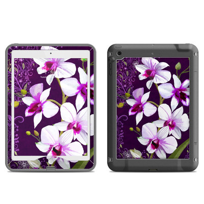 Lifeproof iPad Air Nuud Case Skin - Violet Worlds