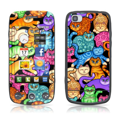 LG Cookie Plus Skin - Colorful Kittens