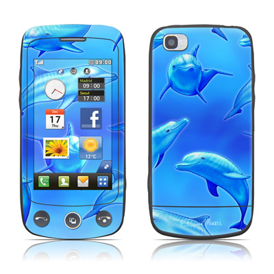 LG Cookie Plus Skin - Swimming Dolphins