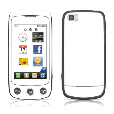 LG Cookie Plus Skin - Solid State White