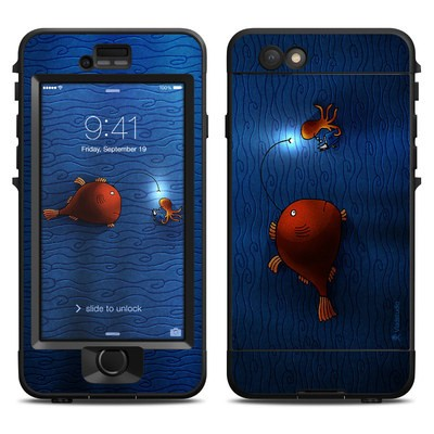 Lifeproof iPhone 6 Nuud Case Skin - Angler Fish