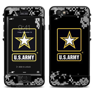 Lifeproof iPhone 6 Nuud Case Skin - Army Pride