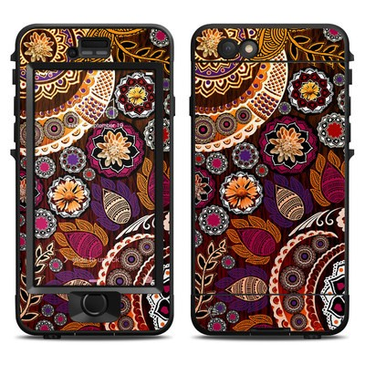 Lifeproof iPhone 6 Nuud Case Skin - Autumn Mehndi