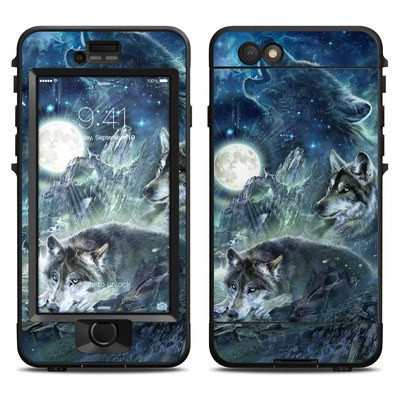 Lifeproof iPhone 6 Nuud Case Skin - Bark At The Moon