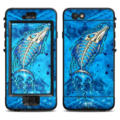 Lifeproof iPhone 6 Nuud Case Skin - Barracuda Bones