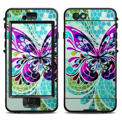 Lifeproof iPhone 6 Nuud Case Skin - Butterfly Glass
