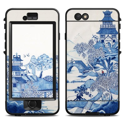 Lifeproof iPhone 6 Nuud Case Skin - Blue Willow