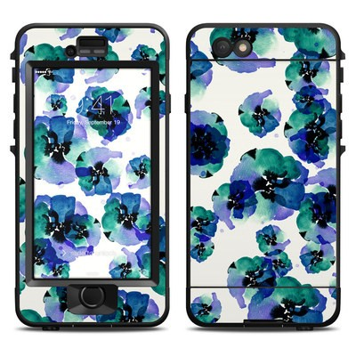 Lifeproof iPhone 6 Nuud Case Skin - Blue Eye Flowers