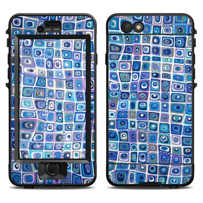 Lifeproof iPhone 6 Nuud Case Skin - Blue Monday