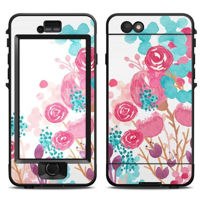 Lifeproof iPhone 6 Nuud Case Skin - Blush Blossoms