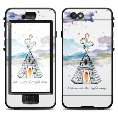 Lifeproof iPhone 6 Nuud Case Skin - Boho Teepee