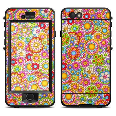 Lifeproof iPhone 6 Nuud Case Skin - Bright Ditzy