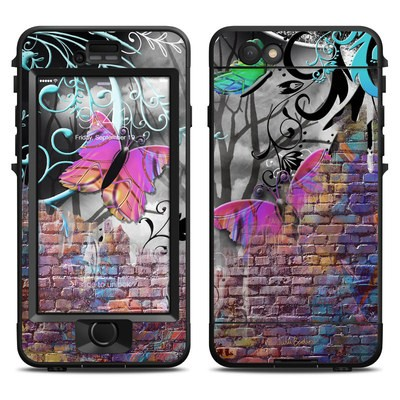 Lifeproof iPhone 6 Nuud Case Skin - Butterfly Wall