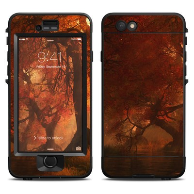 Lifeproof iPhone 6 Nuud Case Skin - Canopy Creek Autumn
