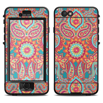 Lifeproof iPhone 6 Nuud Case Skin - Carnival Paisley