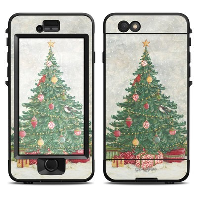 Lifeproof iPhone 6 Nuud Case Skin - Christmas Wonderland