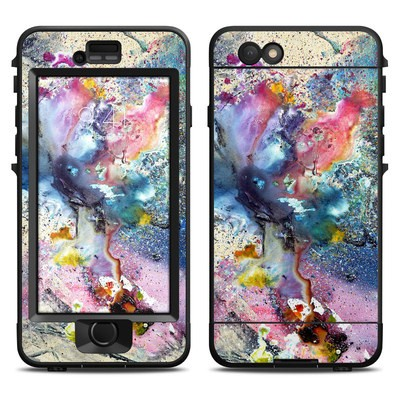 Lifeproof iPhone 6 Nuud Case Skin - Cosmic Flower