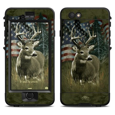 Lifeproof iPhone 6 Nuud Case Skin - Deer Flag