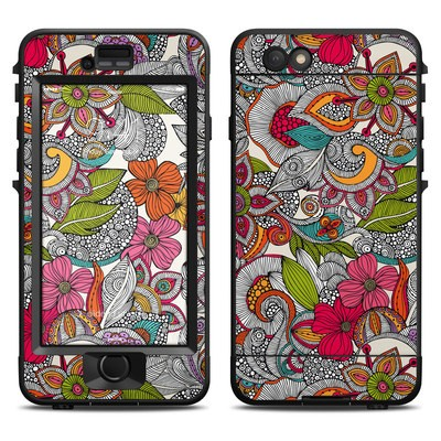 Lifeproof iPhone 6 Nuud Case Skin - Doodles Color