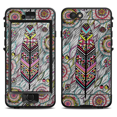 Lifeproof iPhone 6 Nuud Case Skin - Dream Feather