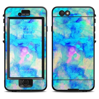 Lifeproof iPhone 6 Nuud Case Skin - Electrify Ice Blue