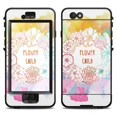 Lifeproof iPhone 6 Nuud Case Skin - Flower Child
