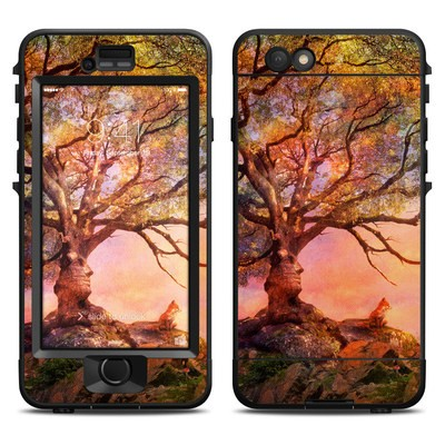 Lifeproof iPhone 6 Nuud Case Skin - Fox Sunset