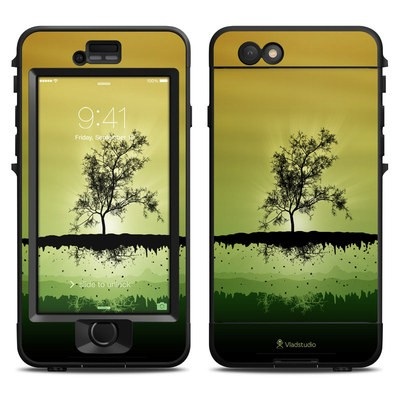 Lifeproof iPhone 6 Nuud Case Skin - Flying Tree Amber