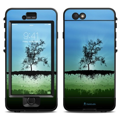 Lifeproof iPhone 6 Nuud Case Skin - Flying Tree Blue