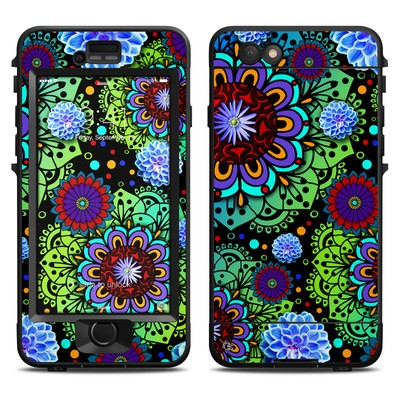 Lifeproof iPhone 6 Nuud Case Skin - Funky Floratopia