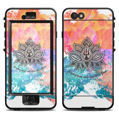 Lifeproof iPhone 6 Nuud Case Skin - Happy Lotus