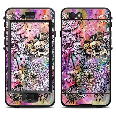 Lifeproof iPhone 6 Nuud Case Skin - Hot House Flowers