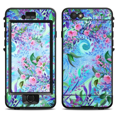 Lifeproof iPhone 6 Nuud Case Skin - Lavender Flowers