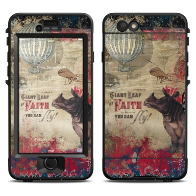 Lifeproof iPhone 6 Nuud Case Skin - Leap Of Faith