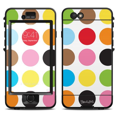 Lifeproof iPhone 6 Nuud Case Skin - Multidot