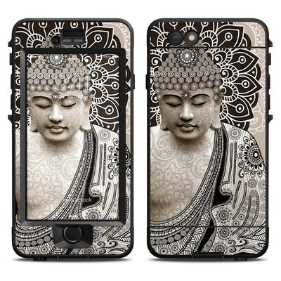 Lifeproof iPhone 6 Nuud Case Skin - Meditation Mehndi