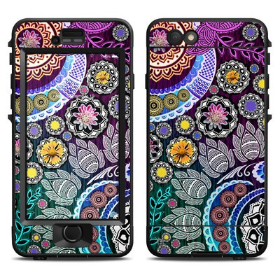 Lifeproof iPhone 6 Nuud Case Skin - Mehndi Garden