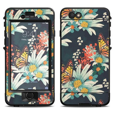 Lifeproof iPhone 6 Nuud Case Skin - Monarch Grove