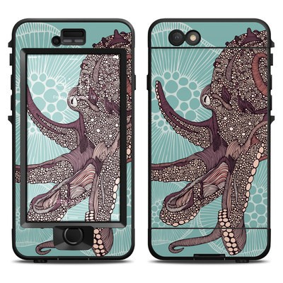 Lifeproof iPhone 6 Nuud Case Skin - Octopus Bloom