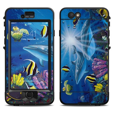 Lifeproof iPhone 6 Nuud Case Skin - Ocean Friends