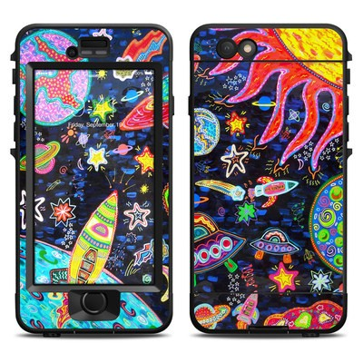 Lifeproof iPhone 6 Nuud Case Skin - Out to Space