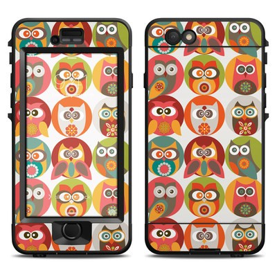 Lifeproof iPhone 6 Nuud Case Skin - Owls Family